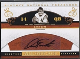 2007 Playoff National Treasures #DF Dan Fouts All Decade Signature Auto #28/50