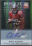 2012 Elite #138 Doug Martin Turn of the Century Rookie Auto #18/99