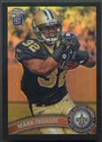 2011 Topps Chrome #50 Mark Ingram Rookie Black Refractor #125/299