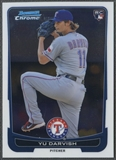 2012 Bowman Chrome #84 Yu Darvish Rookie