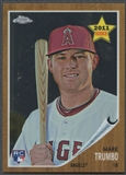 2011 Topps Heritage Chrome #C122 Mark Trumbo Rookie #0697/1962