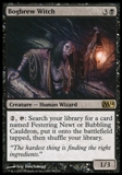 Magic the Gathering 2014 Single Bogbrew Witch UNPLAYED