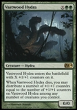Magic the Gathering 2014 Single Vastwood Hydra UNPLAYED