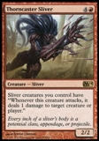 Magic the Gathering 2014 Single Thorncaster Sliver UNPLAYED