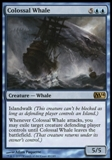 Magic the Gathering 2014 Single Colossal Whale - NEAR MINT (NM)