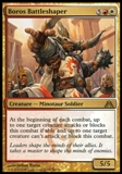 Magic the Gathering Dragon's Maze Single Boros Battleshaper UNPLAYED