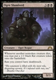 Magic the Gathering Gatecrash Single Ogre Slumlord UNPLAYED