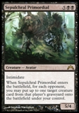 Magic the Gathering Gatecrash Single Sepulchral Primordial - NEAR MINT (NM)