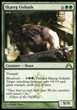 Magic the Gathering Gatecrash Single Skarrg Goliath UNPLAYED