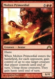 Magic the Gathering Gatecrash Single Molten Primordial UNPLAYED