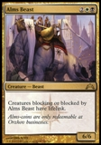 Magic the Gathering Gatecrash Single Alms Beast UNPLAYED