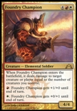 Magic the Gathering Gatecrash Single Foundry Champion Foil UNPLAYED