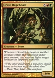 Magic the Gathering Gatecrash Single Gruul Ragebeast UNPLAYED