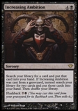 Magic the Gathering Dark Ascension Single Increasing Ambition UNPLAYED