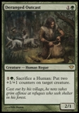 Magic the Gathering Dark Ascension Single Deranged Outcast UNPLAYED