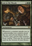 Magic the Gathering Dark Ascension Single Lost in the Woods UNPLAYED