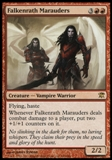 Magic the Gathering Innistrad Single Falkenrath Marauders Foil - NEAR MINT (NM)