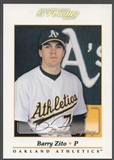 2001 Studio #48 Barry Zito Private Signings 5x7 Auto