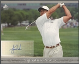 2005 SP Signature #T1 Tiger Woods Signature Shots 8x10 Full Swing Auto SP