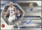 2004/05 SP Authentic #JW Jason Williams Signatures Auto