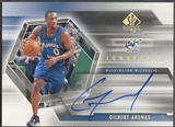 2004/05 SP Authentic #GA Gilbert Arenas Signatures Auto
