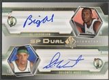 2004/05 SP Authentic #JW Al Jefferson & Delonte West Signatures Dual Auto