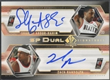 2004/05 SP Authentic #AR Shareef Abdur-Rahim & Zach Randolph Signatures Dual Auto