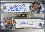 2004/05 SP Authentic #MJ Marquis Daniels & Josh Howard Signatures Dual Auto