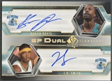 2004/05 SP Authentic #DS Baron Davis & J.R. Smith Signatures Dual Auto