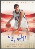 2004/05 SP Authentic #141 Nenad Krstic Limited Extra Rookie Auto #12/25