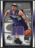 2004/05 SP Game Used #85 Mike Bibby Jersey