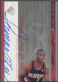 1999/00 SP Authentic #JO Jermaine O'Neal Sign of the Times Auto