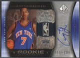 2005/06 SP Authentic #98 Channing Frye Rookie Auto #0223/1299