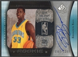 2005/06 SP Authentic #99 Brandon Bass Rookie Auto #0502/1299