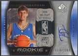 2005/06 SP Authentic #100 Travis Diener Rookie Auto /1299