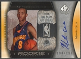 2005/06 SP Authentic #102 Monta Ellis Rookie Auto /1299