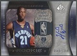 2005/06 SP Authentic #109 Hakim Warrick Rookie Auto #0540/1299