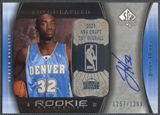 2005/06 SP Authentic #110 Julius Hodge Rookie Auto /1299