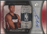 2005/06 SP Authentic #117 Wayne Simien Rookie Auto #0704/1299