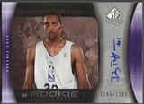 2005/06 SP Authentic #128 Dijon Thompson Rookie Auto /1299