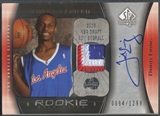 2005/06 SP Authentic #119 Daniel Ewing Limited Rookie Patch Auto #0094/1299