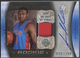 2005/06 SP Authentic #116 Jason Maxiell Limited Rookie Patch Auto #0058/1299