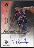 2005/06 SP Authentic #AW Antoine Wright Sensational Sigs Auto