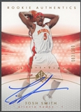 2004/05 SP Authentic #171 Josh Smith Limited Rookie Auto #083/100