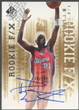 2000/01 SP Authentic #93 Darius Miles Rookie Auto #330/500