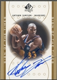 2000/01 SP Authentic #AJ Antawn Jamison Sign of the Times Auto