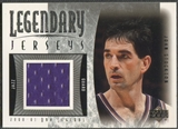 2001/02 Upper Deck Legends #JSJ John Stockton Legendary Jersey