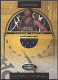 2001/02 Hoops Hot Prospects #107 Jamaal Tinsley Rookie Jersey #0875/1000
