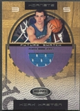 2001/02 Hoops Hot Prospects #96 Kirk Haston Rookie Jersey #0902/1000
