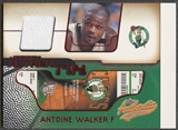 2001/02 Fleer Authentix #13 Antoine Walker Ticket Jersey